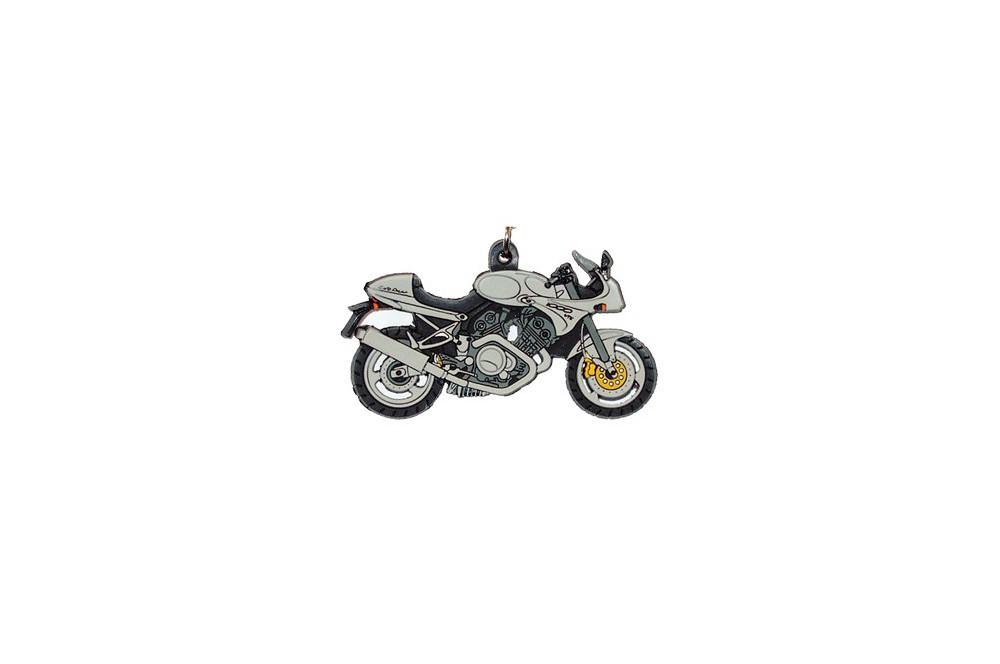 porte clefs 2d voxan cafe racer gris street moto piece. Black Bedroom Furniture Sets. Home Design Ideas