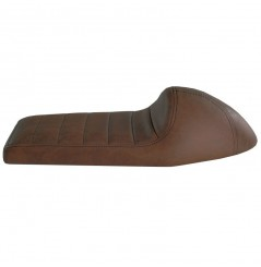 Selle Moto Speed Marron Dosseret gainé