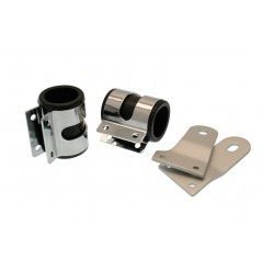 Supports de phare moto universels Ø48mm - Long. 90mm