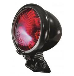 Feu arrière moto à LED rond Egg homologué