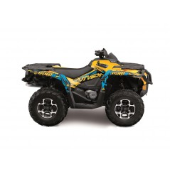 Kit Déco KUTVEK Pour Quad Can Am OUTLANDER G2 (12-17)