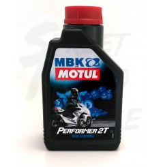 Huile Scooter Motul MBK Performer 2 Temps 1 Litre