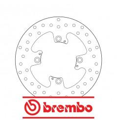 Disque de frein arrière Brembo pour Tiger 800 XC et XR (15-16)