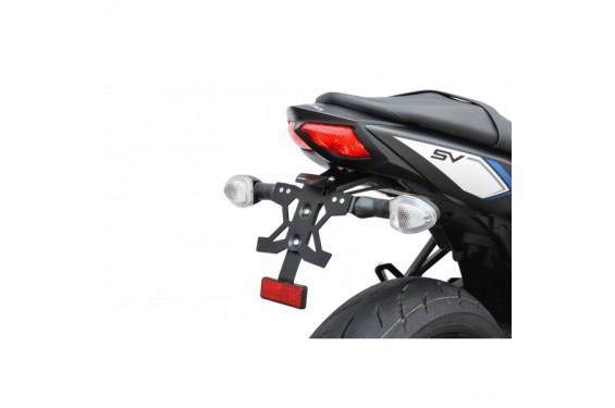 support de plaque top block pour sv650 16 18 street moto piece. Black Bedroom Furniture Sets. Home Design Ideas