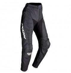 Pantalon Moto Cuir Ixon FUELLER PANT 2.0 Noir - Blanc