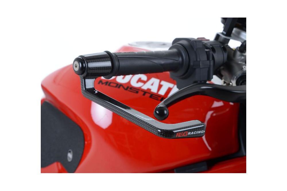 protection de levier de frein moto carbone r g monster 1200r 16 street moto piece. Black Bedroom Furniture Sets. Home Design Ideas