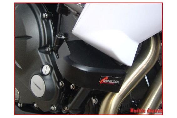 kit patins top block pour kawasaki er6n 09 11 street moto piece. Black Bedroom Furniture Sets. Home Design Ideas