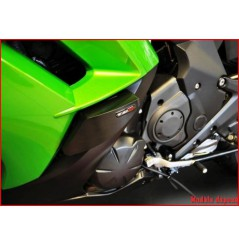 KIT PATINS TOP BLOCK POUR KAWASAKI ER6 N 2012