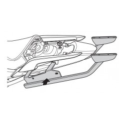 SUPPORT TOP CASE SHAD NC700 X et S (12-13)