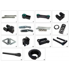Kit Rabaissement -30mm Ducati Monster 696 et 1100 (08-15)