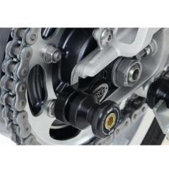 Pions / Diabolo de levage racing R&G pour Thruxton 1200 (16-18) Street Twin 900 (16-18)