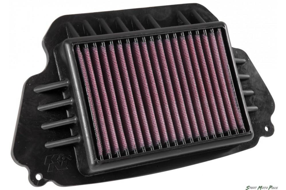 filtre a air k n pour cbr650f 14 16 cb650f 14 16 street moto piece. Black Bedroom Furniture Sets. Home Design Ideas