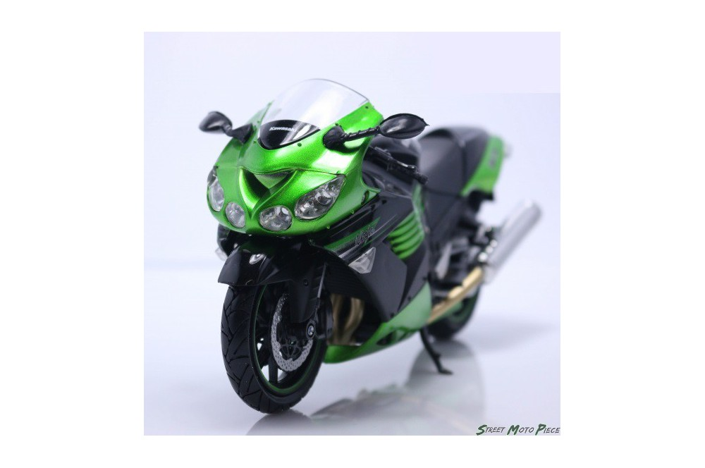 maquette moto 1 12 me kawasaki zx14 r ninja street moto piece. Black Bedroom Furniture Sets. Home Design Ideas