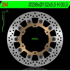 Disque de frein avant Yamaha XJ 600, YZF R6 99/02, 650/1100 DragStar, TDM 900, 1000 FAZER, YZF R1 98/03, Bulldog, FJR/XJR 1300