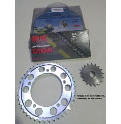 Kit Chaine Moto pour Speed Triple 955 (02-04)