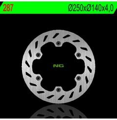 Disque de Frein Moto NG Brake Avant pour Aprilia RX125 (89-00)