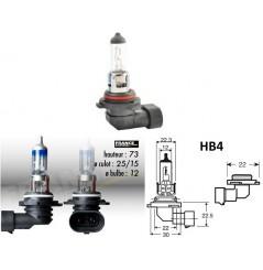 Ampoule HB4 12V-51W RING Xenon Max +100% pour Moto-Quad-Scooter