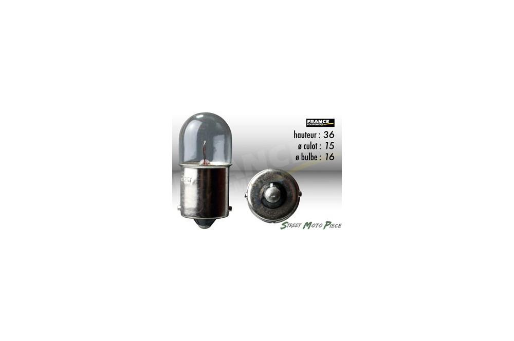 ampoule graisseur 6v 5w ba15s ring pour moto quad scooter street moto piece. Black Bedroom Furniture Sets. Home Design Ideas