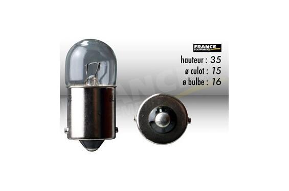 ampoule stop clignotant 12v 10w ba15s ring pour moto quad scooter street moto piece. Black Bedroom Furniture Sets. Home Design Ideas