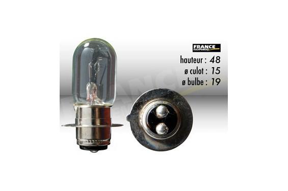 ampoule phare 6v 25 25w px15d ring pour moto quad scooter street moto piece. Black Bedroom Furniture Sets. Home Design Ideas