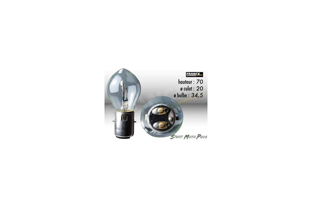ampoule phare 12v 35 35w ba20d ring pour moto quad scooter street moto piece. Black Bedroom Furniture Sets. Home Design Ideas