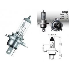Ampoule HS1 12V-35/35W RING pour Moto-Quad-Scooter