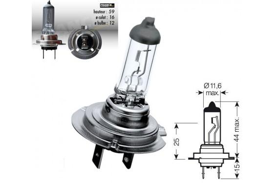 Ampoule H7 12V-55W RING pour Moto-Quad-Scooter