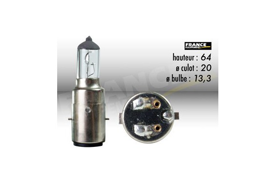 Ampoule Phare 12V-35/35W RING pour Moto-Quad-Scooter