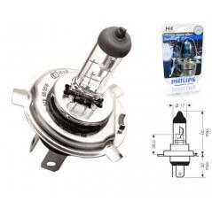 Ampoule H4 12V-55/60W PHILIPS BLUE VISION pour Moto-Quad-Scooter