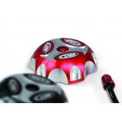 Bouchon de Réservoir Alu Rouge ART pour Quad Honda TRX