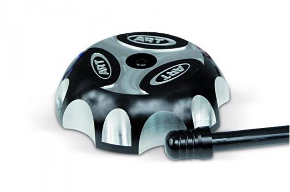 Bouchon de Réservoir Alu Noir ART pour Quad Kawasaki KFX 400
