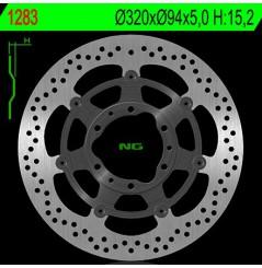 Disque de frein avant Honda CBR 1000 RR 08/11