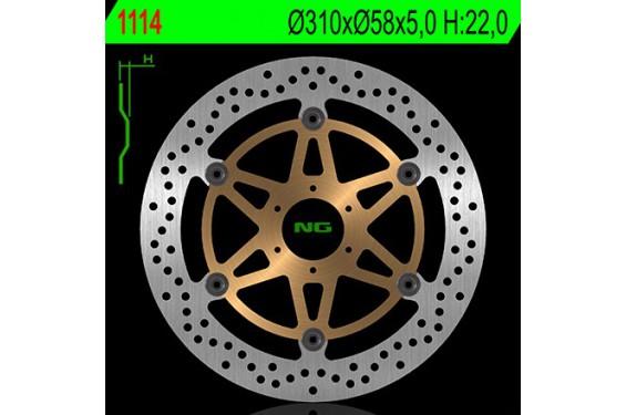 Disque de frein avant Honda CBR 1100 XX 97/98