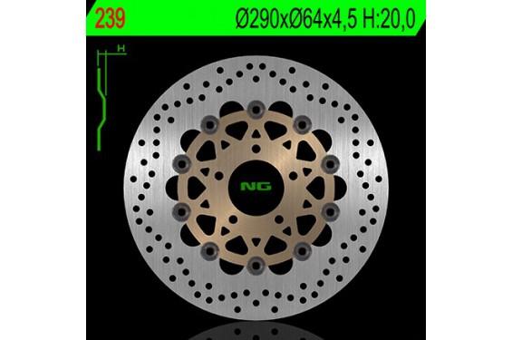 Disque de frein avant SUZUKI  600 Bandit S/N 95/04, GSX 600 F 89/03, RF 600 R 89/03, SV 650 N/S 99/02, GSX 750 F 98/03
