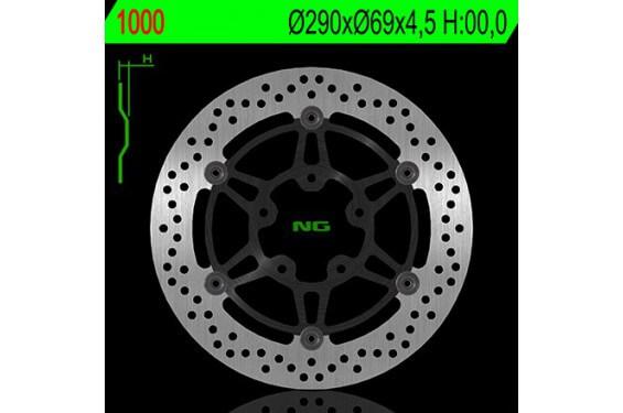 Disque de frein avant SUZUKI GSXF 600 04/07, 650 Bandit 05/06, 650 Gladius 09/12, SV 650 N/S 03/11