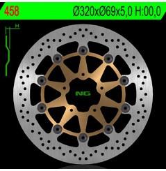 Disque de frein avant GSX 600 F, GSXR 750 96/03, GSXR 1000 01/02, TL 1000 R 98/03, TL 1000 S 97/02, Hayabusa 99/07, GSX 1400