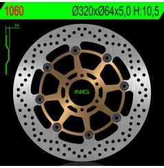 Disque de frein avant Yamaha FZR 1000 Exup 90/95, XJR 1200 95/98, XJR 1300 de 98