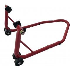 Béquille de Stand Démontable Moto Arrière Rouge