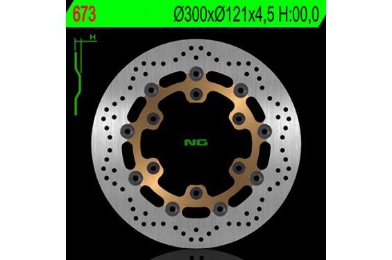 Disque de frein avant SUZUKI XF 650 Freewind 97/03