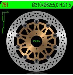 Disque de frein avant Honda CBR 900 RR 98/99