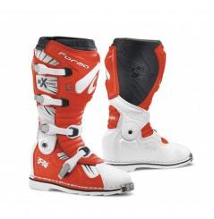 Bottes Moto Cross Forma TERRAIN TX Blanc - Rouge