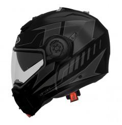 Casque Moto Modulable CABERG DROID Noir - Gris