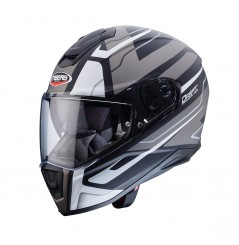 Casque Moto CABERG DRIFT SHADOW Noir Mat - Gris