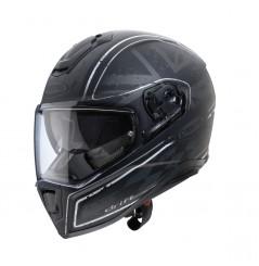 Casque Moto CABERG DRIFT Noir Mat - Gris