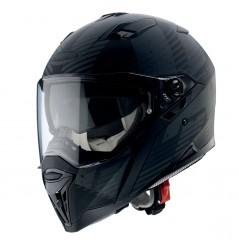 Casque Moto CABERG STUNT BLIZZARD Noir Mat - Gris