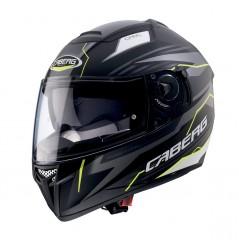 Casque Moto Caberg EGO Noir Mat - Gris - Jaune