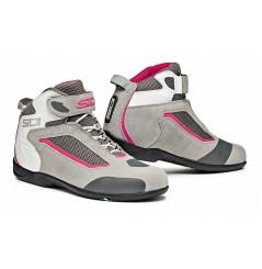 Chaussures Moto SIDI GAS Gris - Rose