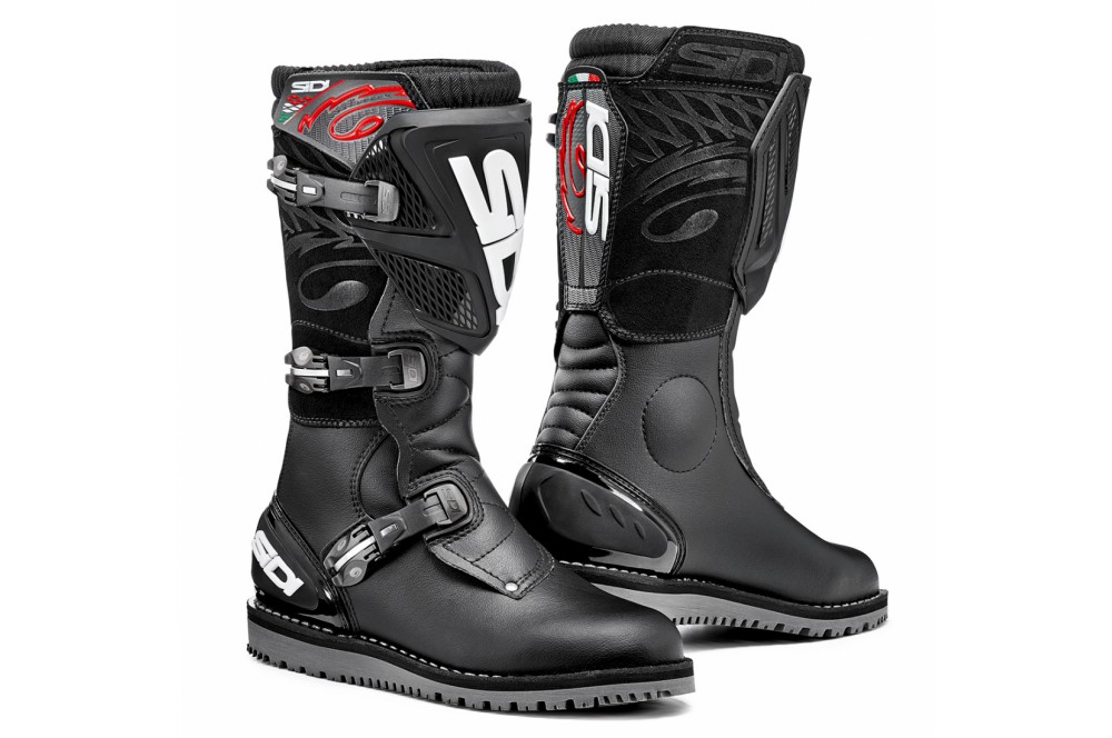 bottes moto sidi trial zero 1 noir street moto piece. Black Bedroom Furniture Sets. Home Design Ideas