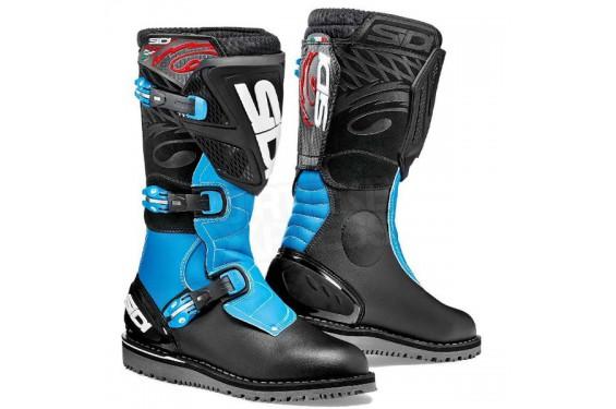 Bottes Moto SIDI TRIAL ZERO 1 Noir - Bleu