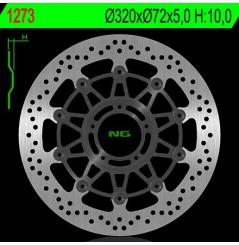 Disque de frein avant NG Brake pour Monster 1100 Evo (11-13) Monster 1200 (14-17) 1200 Multistrada (10-17)